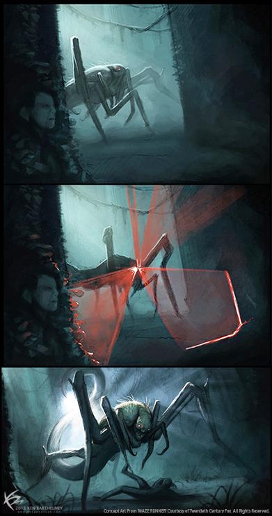 The Art of Ken Barthelmey - Creature Designer / Concept ...
