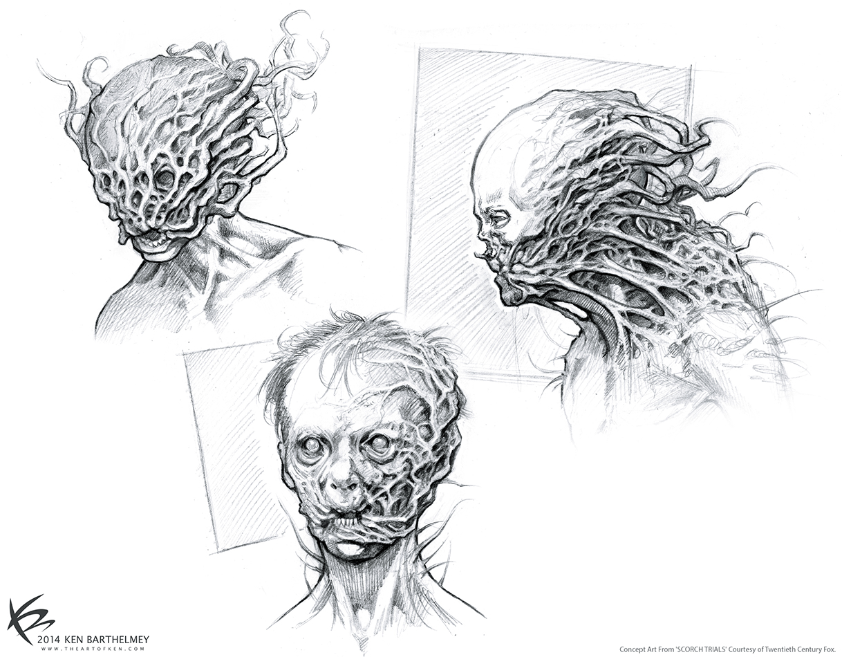 The Art Of Ken Barthelmey Creature Designer Concept