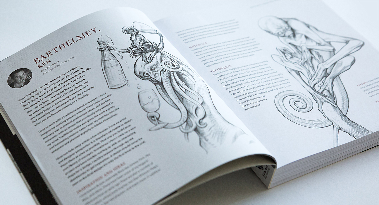 The Art of Ken Barthelmey - Creature Designer / Concept