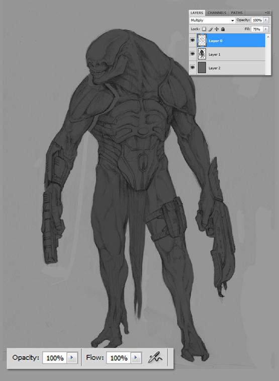 The Art Of Character Design Ken Barthelmey : The art of ken barthelmey creature designer concept